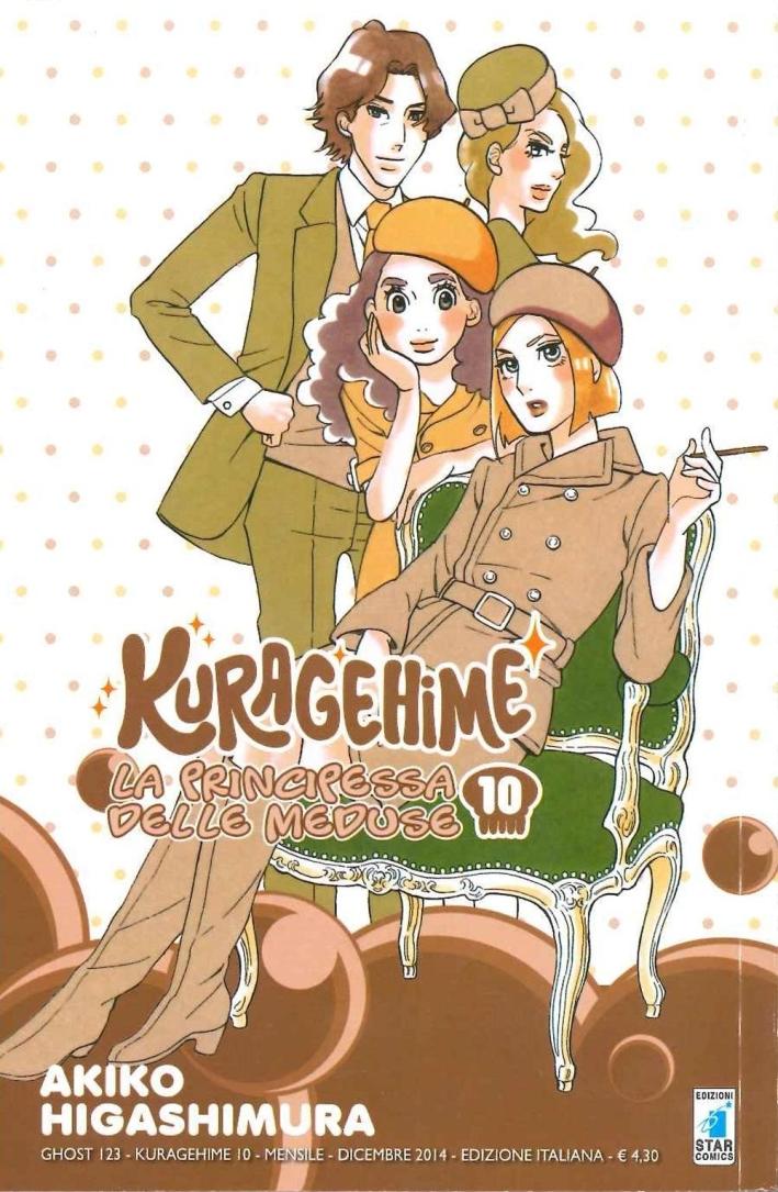 Kuragehime la principessa delle meduse. Vol. 10.