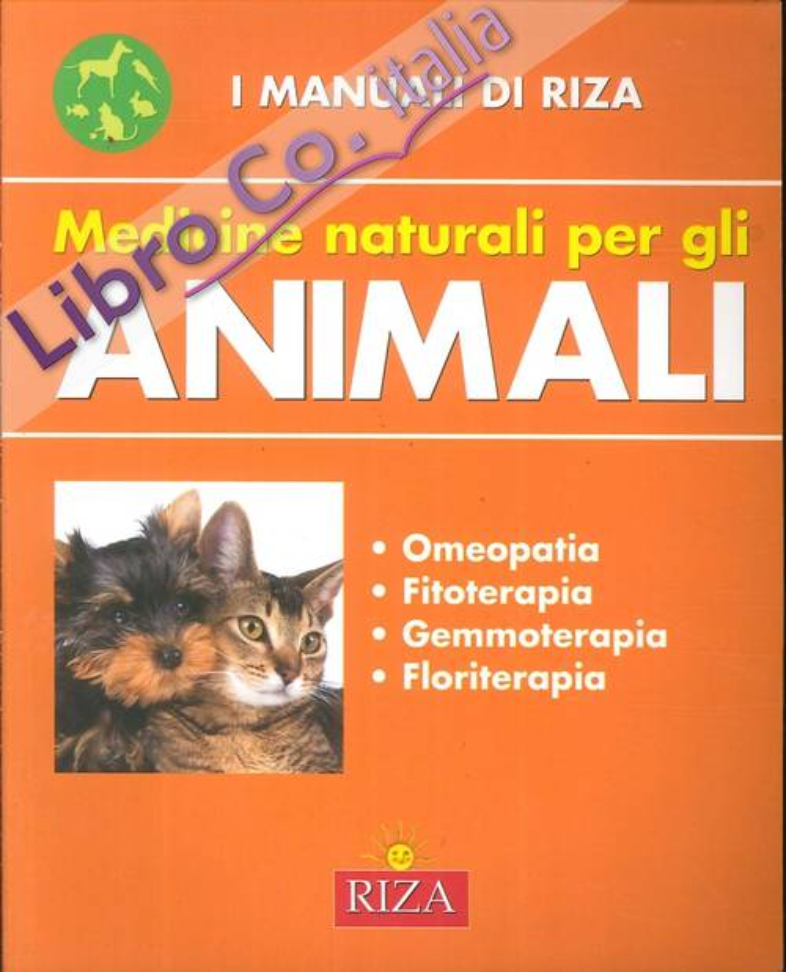 Medicine naturali per gli animali.