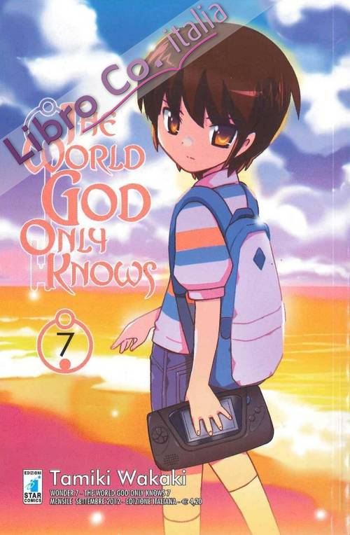 The world god only knows. Vol. 7.