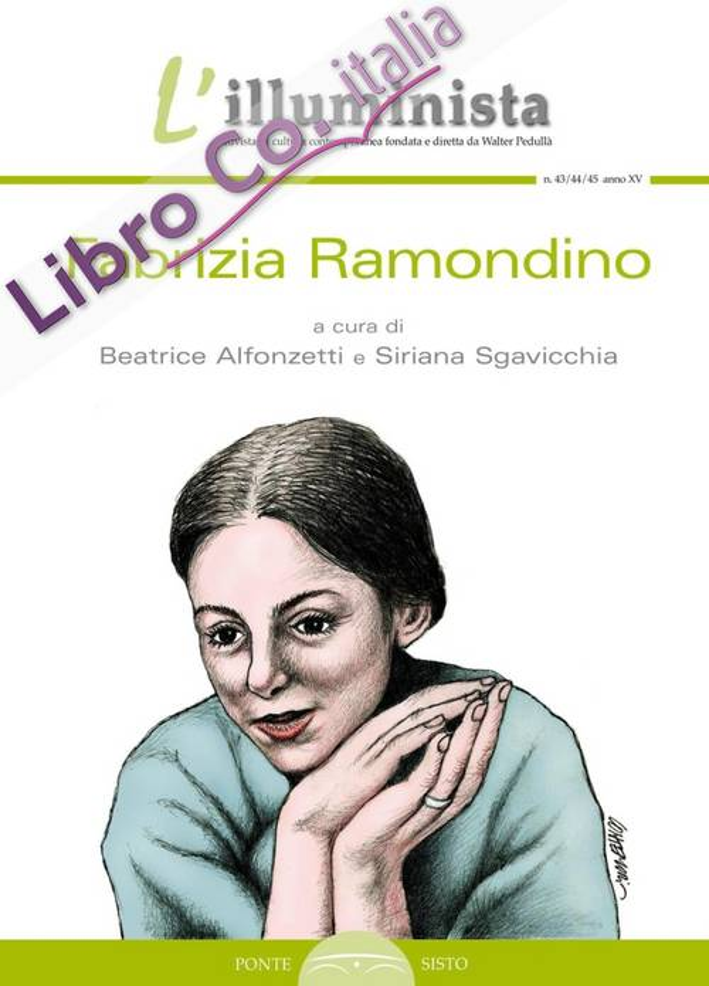 L'illuminista . Vol. 43-44-45: Fabrizia Ramondino