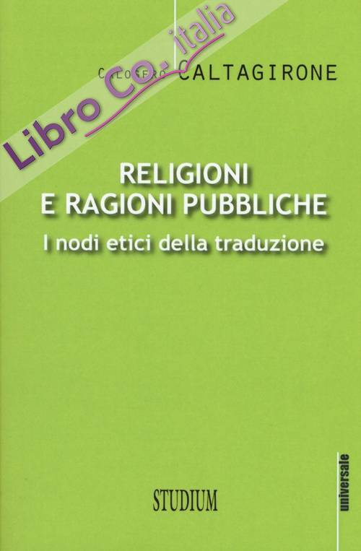 Religioni e ragioni pubbliche.