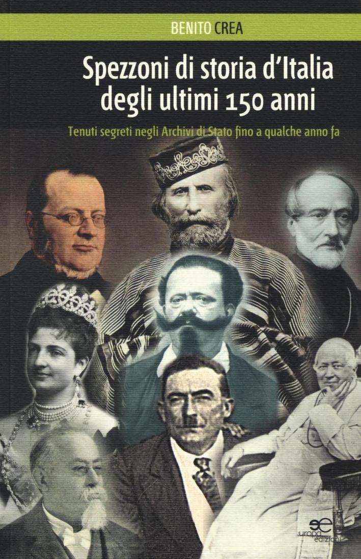 Spezzoni di storia d'Italia degli ultimi 150 anni
