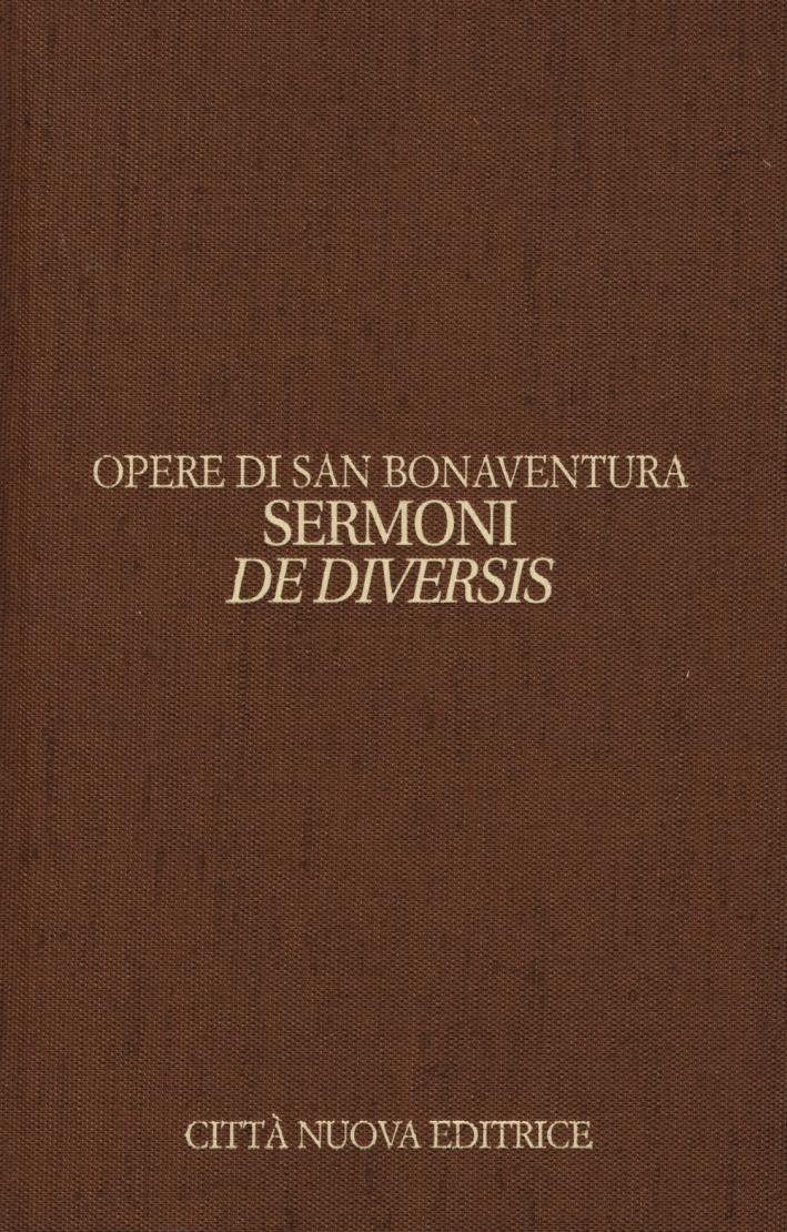 Opere. Ediz. bilingue. Vol. 12/1: Sermoni de diversis. Testo latino a fronte