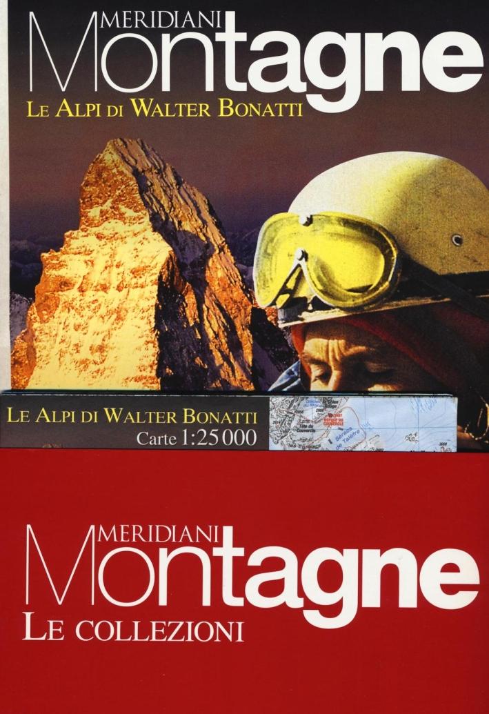 Cervino-Le Alpi di Walter Bonatti. Con Carta geografica ripiegata. Con Carta geografica ripiegata
