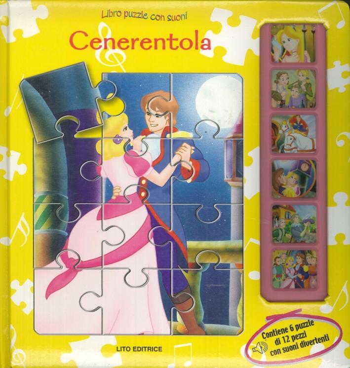 Cenerentola. Libro Puzzle con Suoni