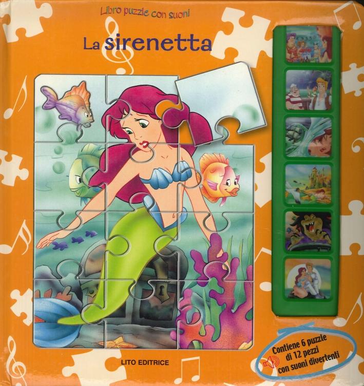 La Sirenetta. Libro Puzzle con Suoni.