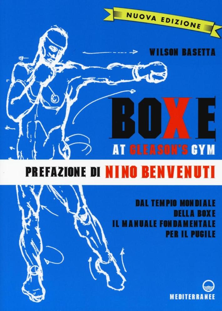 Boxe at Gleason's Gym.