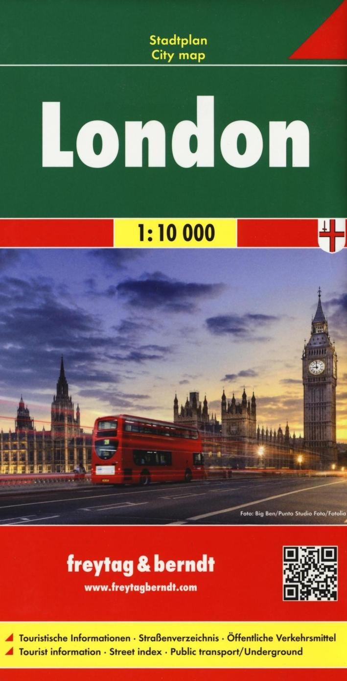 Londres-Londra-Londres 1:10.000. Ediz. multilingue