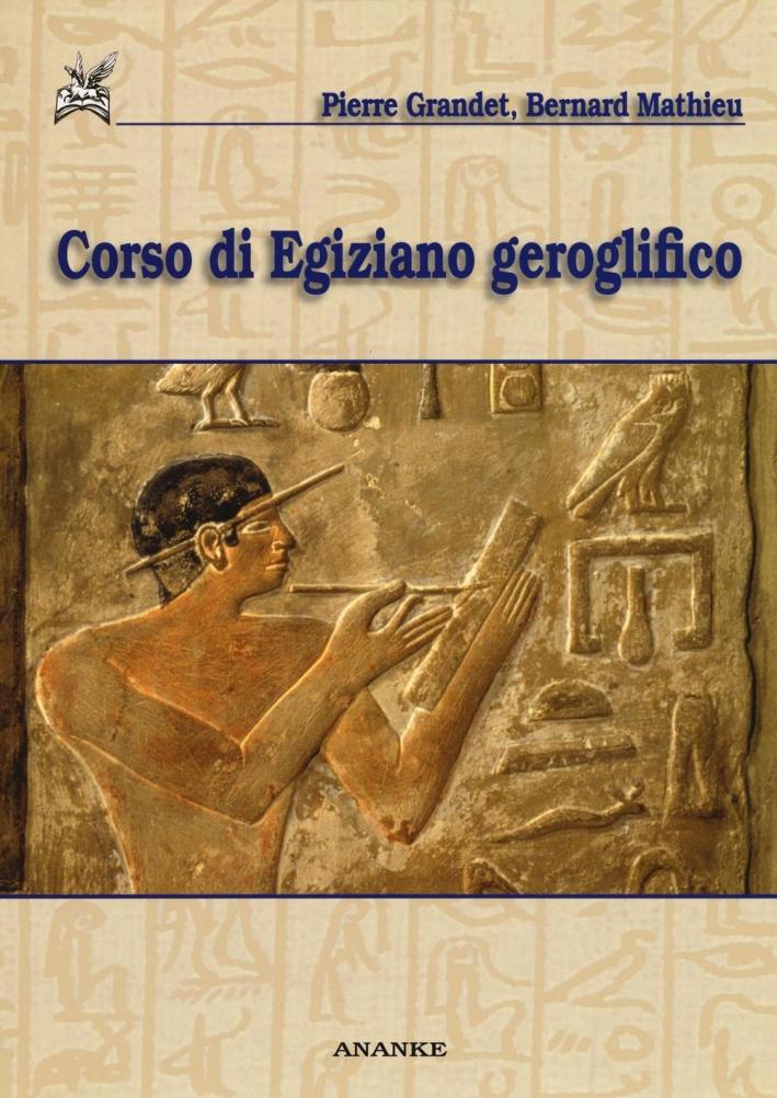 Corso di egiziano geroglifico.