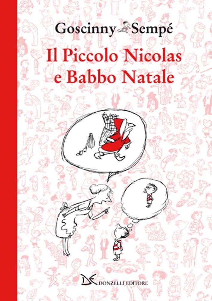 Il piccolo Nicolas e Babbo Natale.
