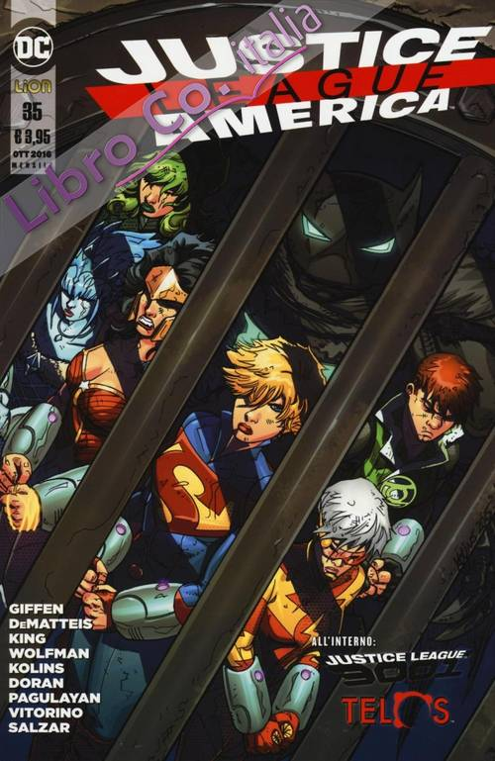 Justice League America. Vol. 35