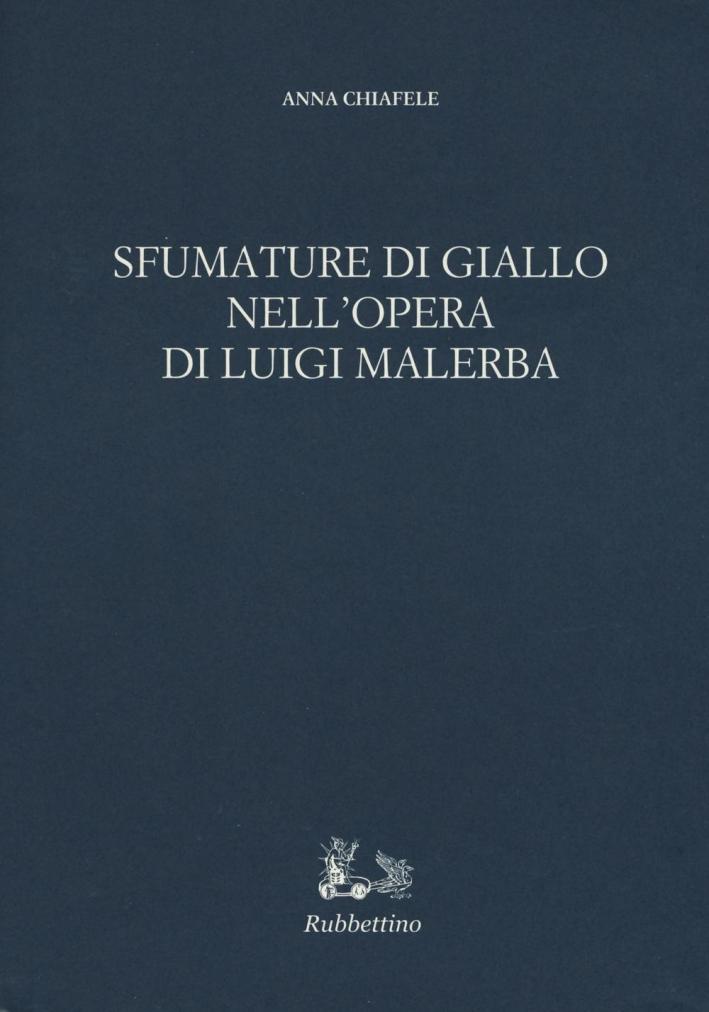 Sfumature di Giallo nell'Opera di Luigi Malerba