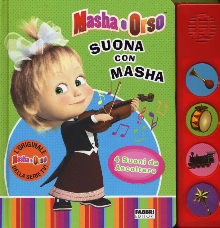 Che musica, maestro! Masha e Orso.