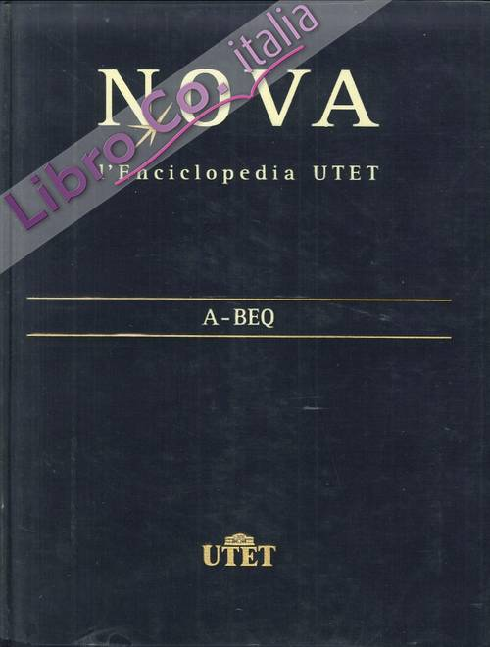 Nova. L'Enciclopedia Utet. [Opera Completa]