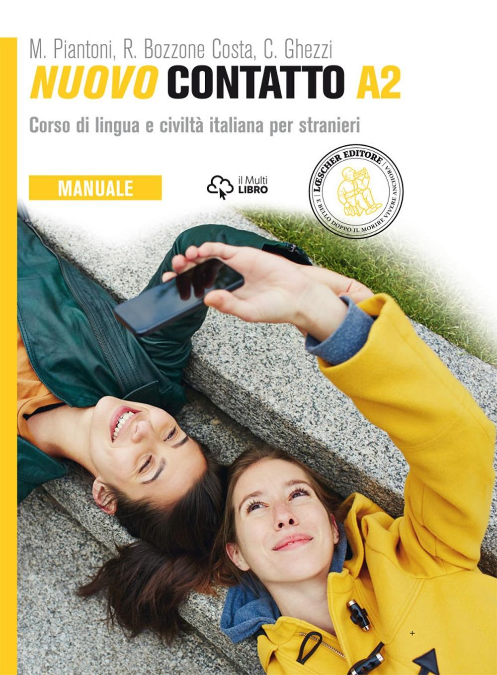 Nuovo Contatto. Corso di lingua e civiltà italiana per stranieri. Manuale A2.