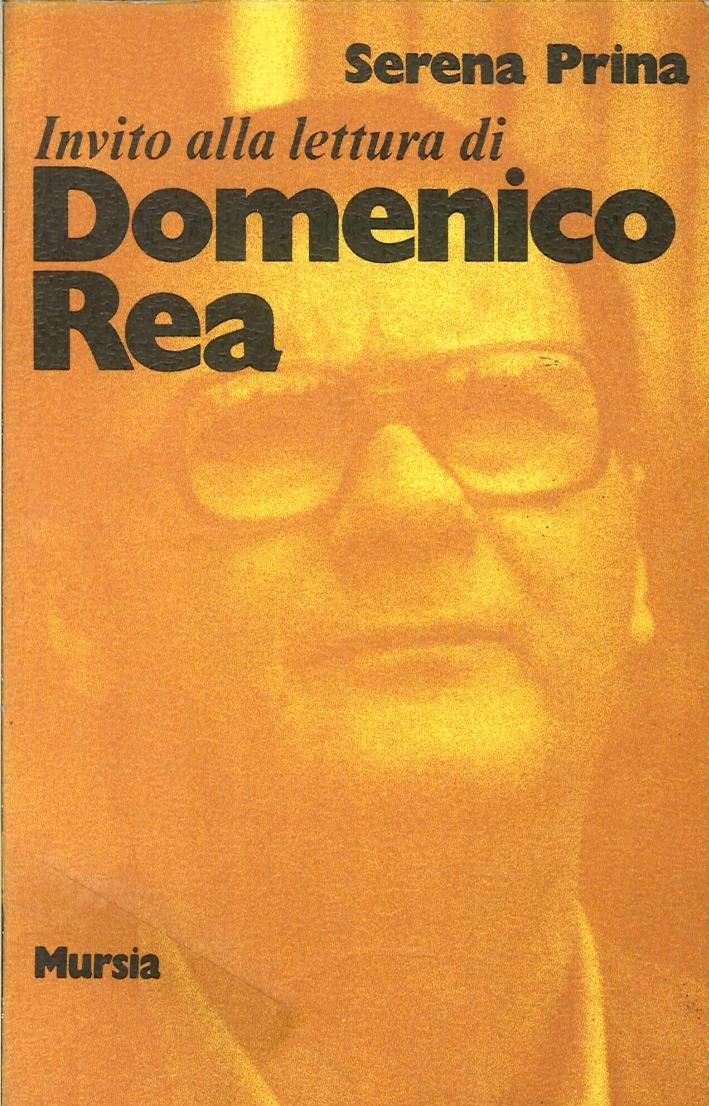 Invito alla lettura di Domenico Rea.