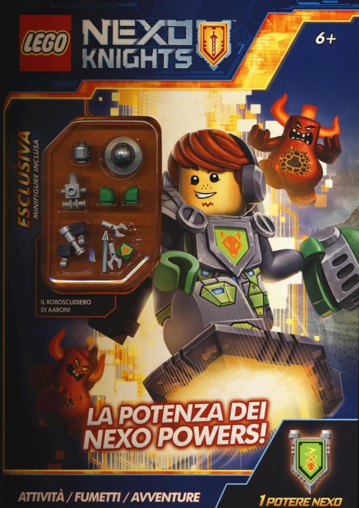 La potenza dei Nexo Powers! Lego Nexo knights. Ediz. illustrata. Con gadget