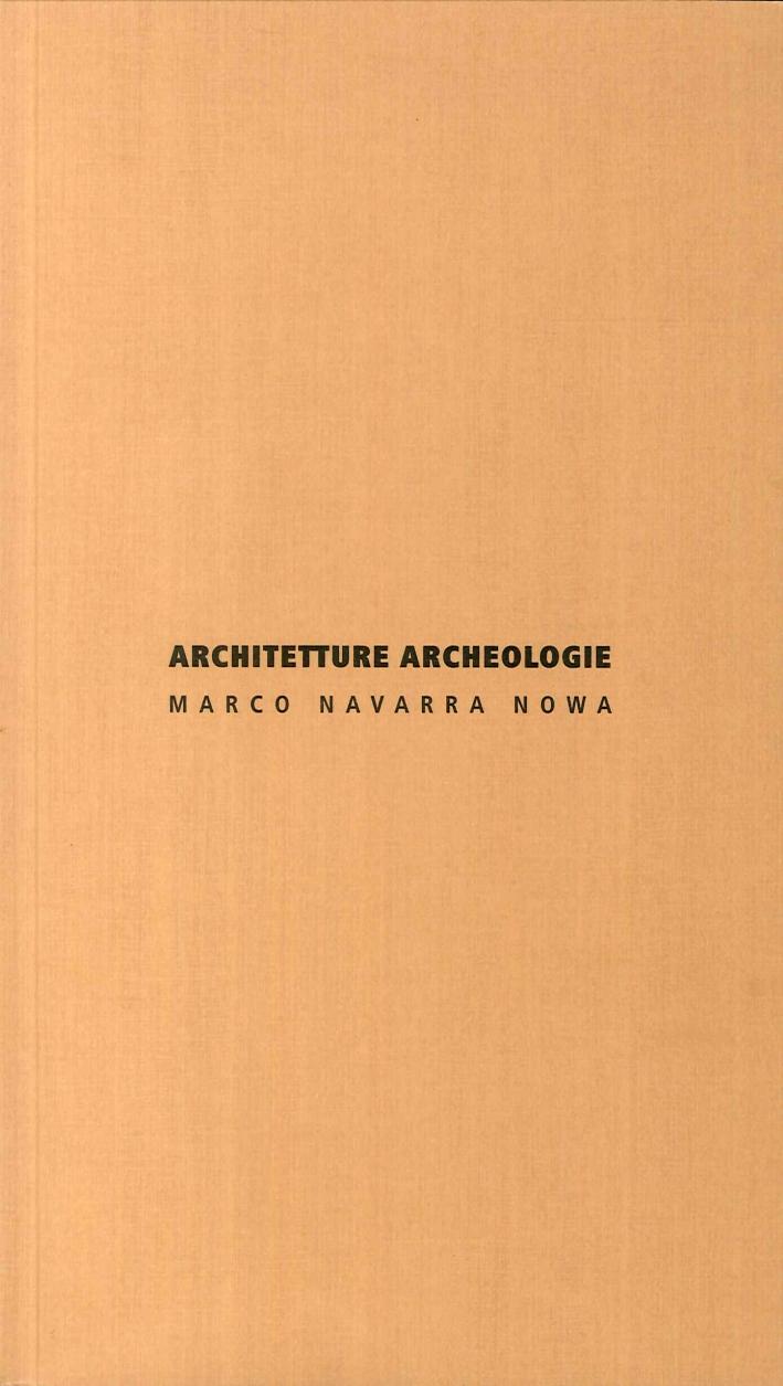 Architetture archeologie.