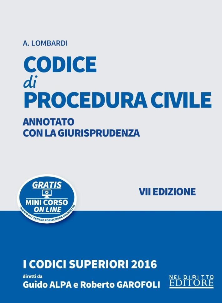 Codice di procedura civile.