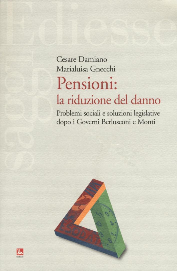 Pensioni: flessibilità vuol dire equità.