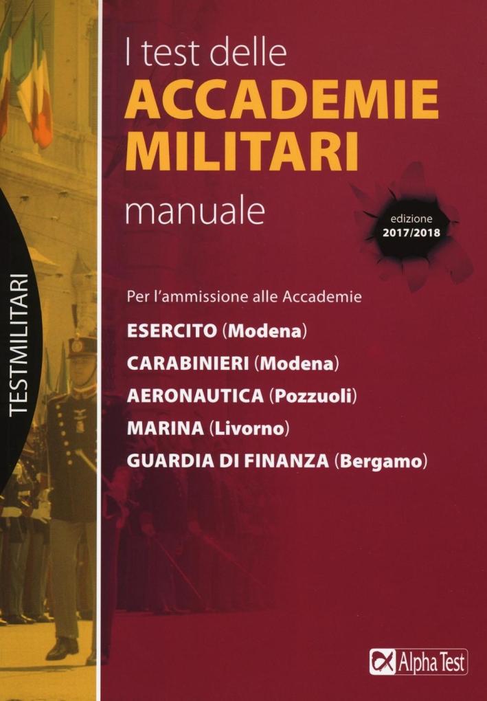 I test delle accademie militari. Manuale.