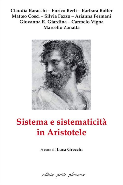 Sistema e sistematicità in Aristotele.