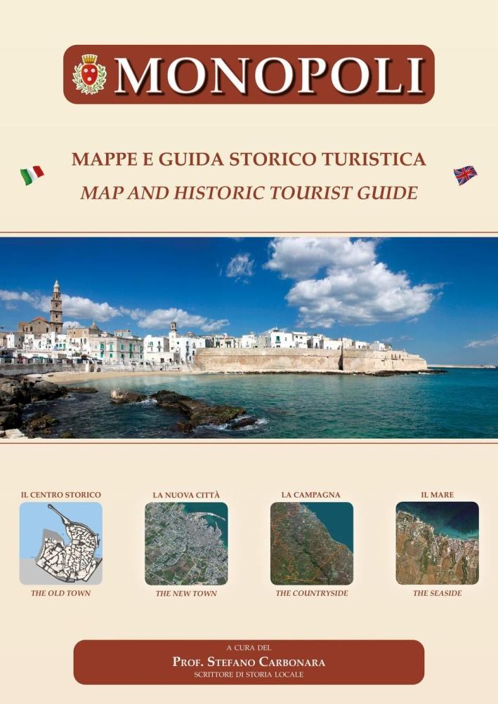 Monopoli. Mappe e guida storico turistica. Ediz. multilingue