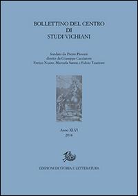 Bollettino del Centro di studi vichiani. Vol. 46