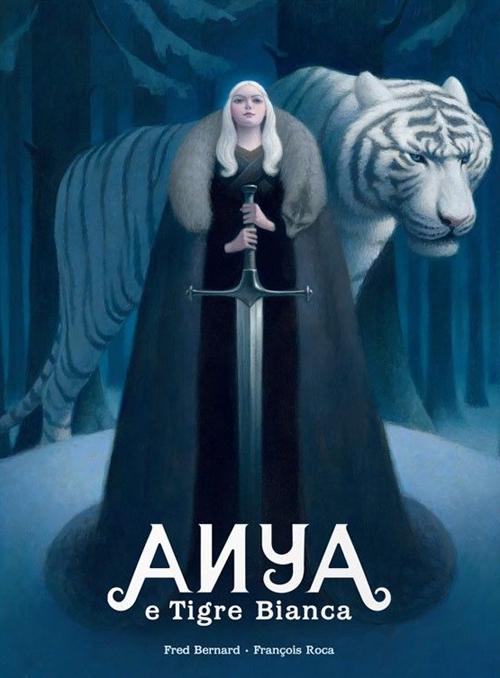 Anya e Tigre Bianca.
