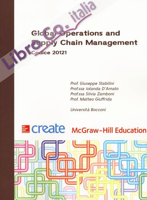 Global operations and supply chain management.