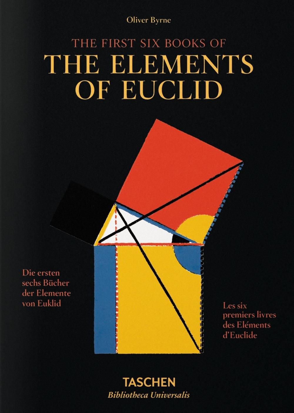 I primi sei libri degli Elementi di Euclide. Ediz. italiana, spagnola e portoghese.
