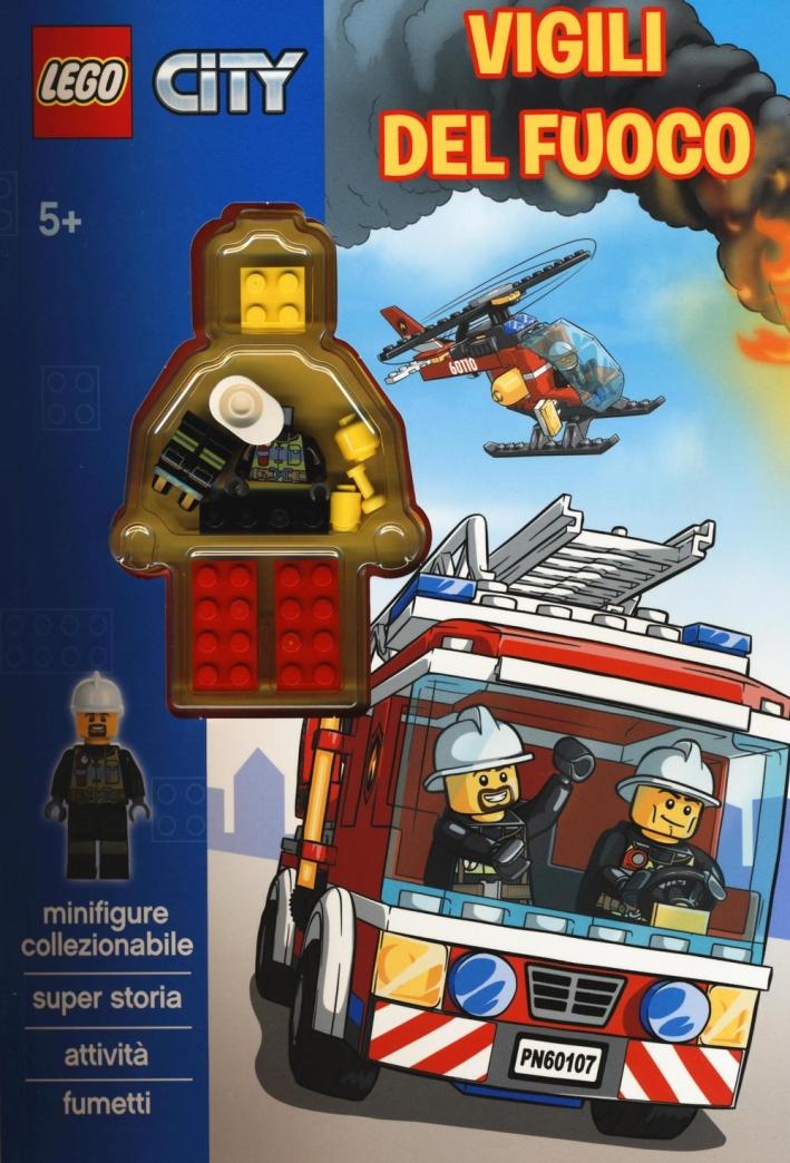 Vigili del fuoco. Lego City. Con gadget.