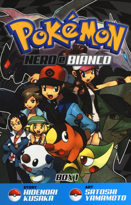 Pokemon nero e bianco. Box 1 vol. 1-10.