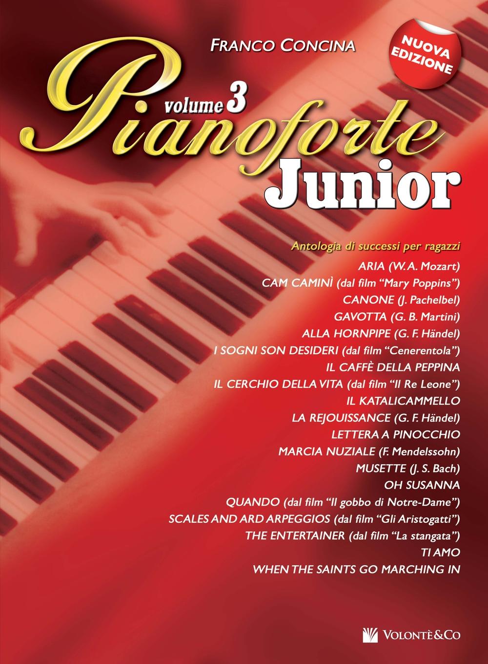Pianoforte junior. Vol. 3.