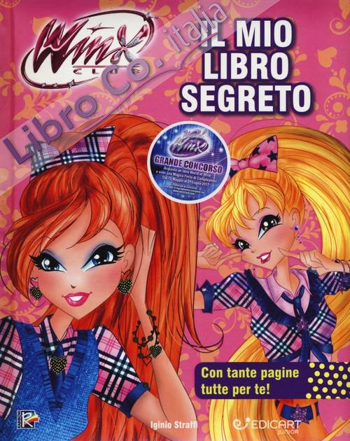 Il mio libro segreto. Winx club. Ediz. a colori