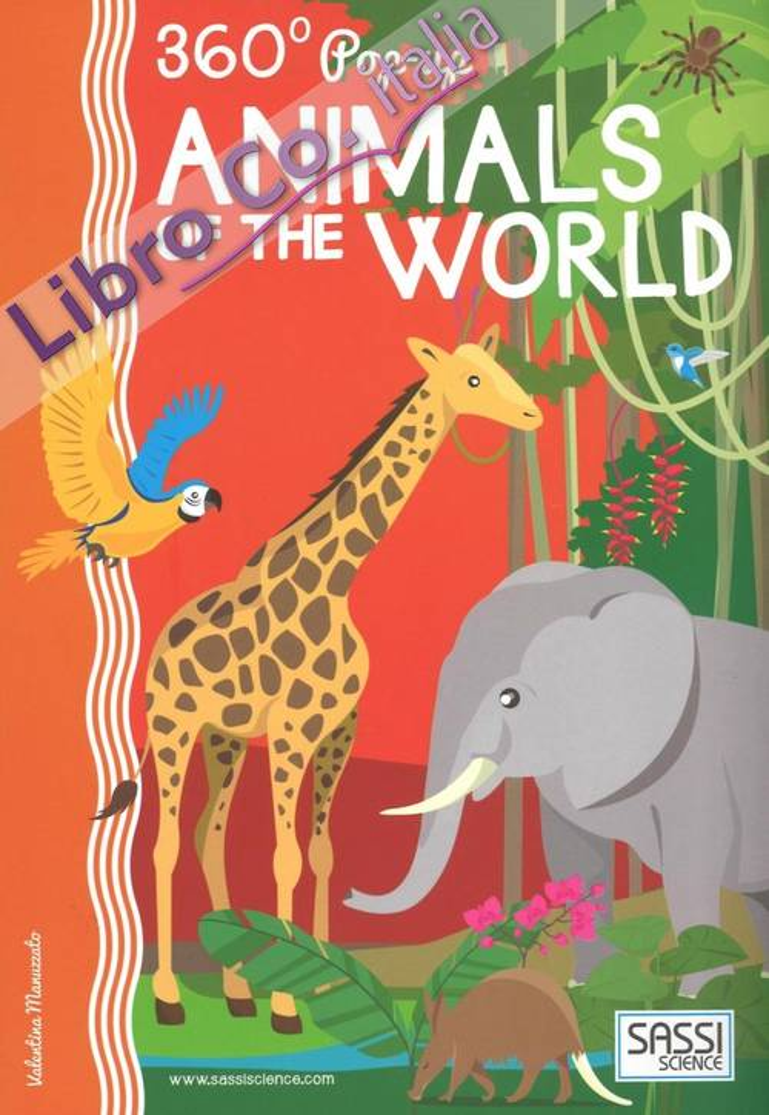 Animals of the world. Pop-up 360°.