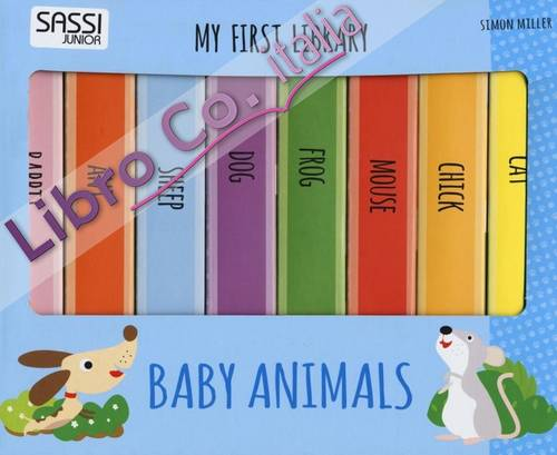 Baby animals. My first library.