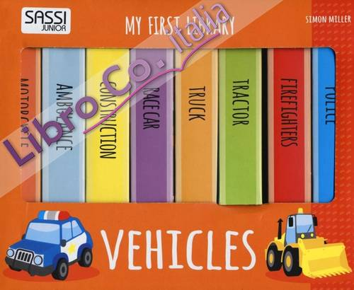 Vehicles. My first library.