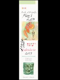Perle d'Oriente fiori zen. Calendario 2017.