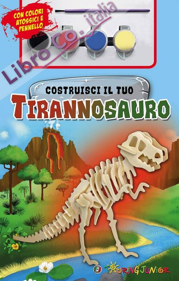 Costruisci il tuo tirannosauro. Con gadget.