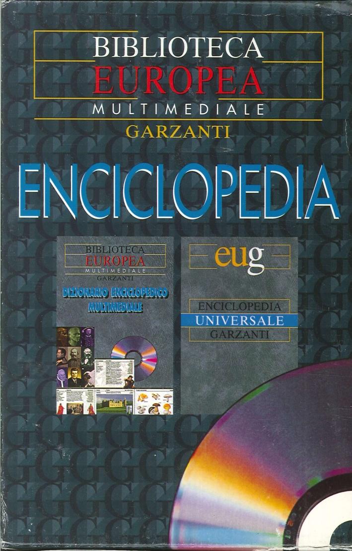 Enciclopedia universale con cd interattivo dizionario enciclopedico multimediale