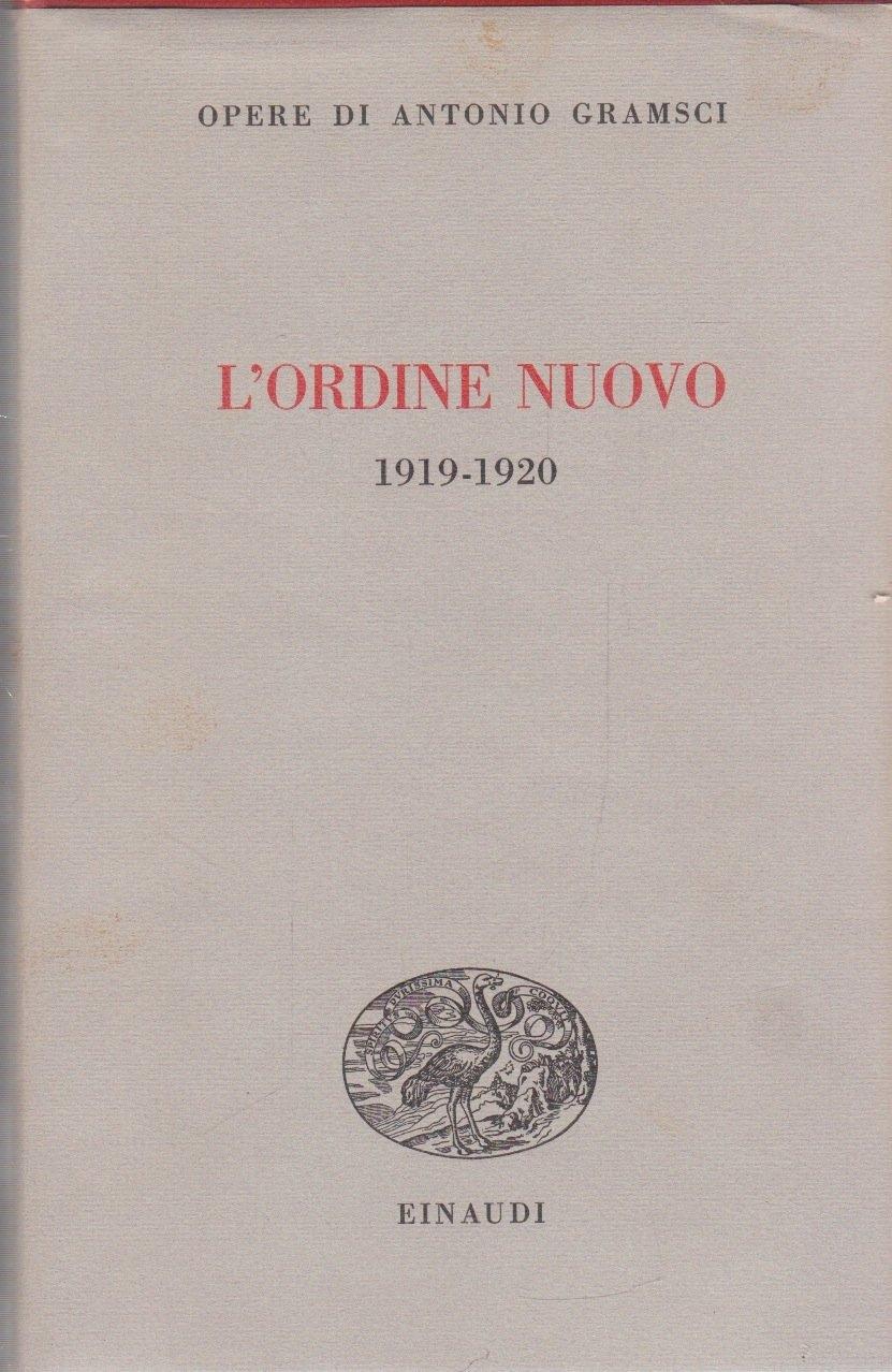 L'ordine Nuovo 1919-1920.