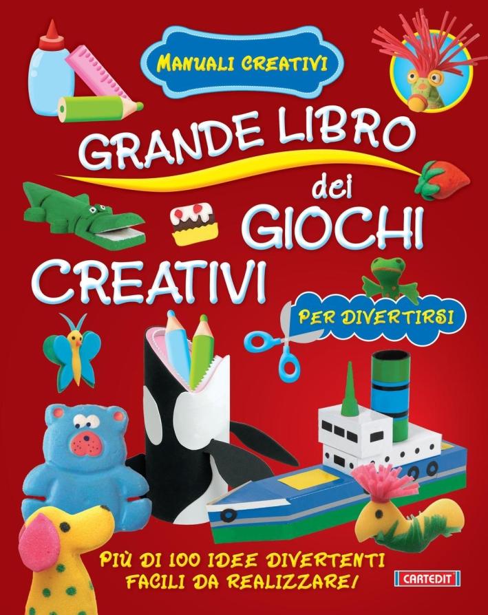 Grande libro dei giochi creativi.