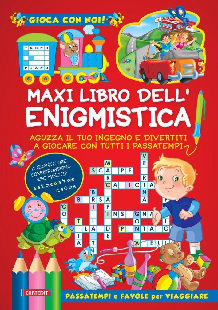 Maxi libro dell'enigmistica.