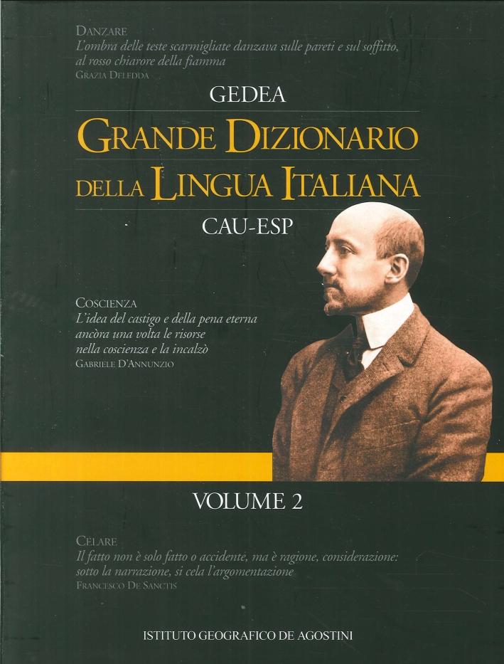 Grande Dizionario della Lingua Italiana Cau - Esp. Volume 2