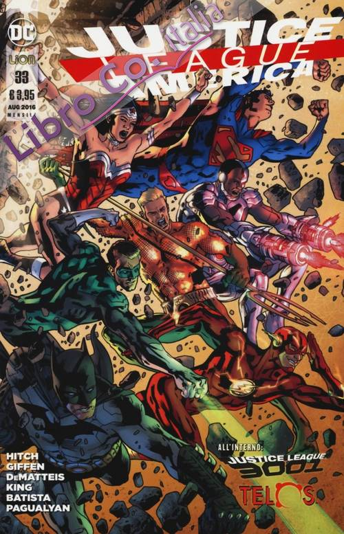 Justice league America. Vol. 33