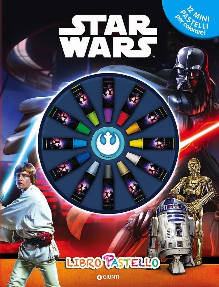 Star Wars. Libro pastello. Ediz. a colori. Con gadget