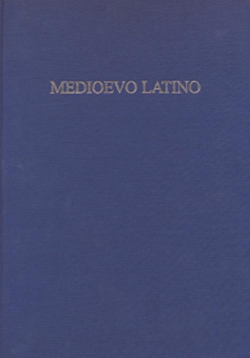 Medioevo latino. Bollettino bibliografico della cultura europea (secolo VI-XV). Vol. 37.