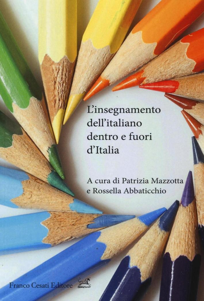 L'insegnamento dell'italiano dentro e fuori d'italia