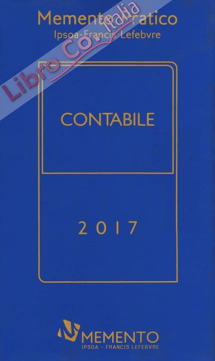 Memento pratico. Contabile 2017.